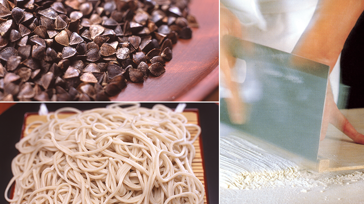 Serious about Soba (buckwheat), serious about the skills