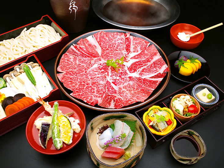 Example of Dashi Shabu-shabu Course