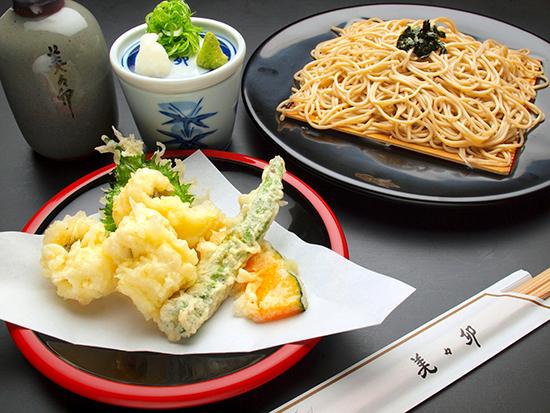 鳢魚天婦羅蕎麥麵